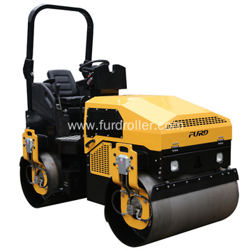 Ride-on Double Drum Water-cooled Diesel Road Roller